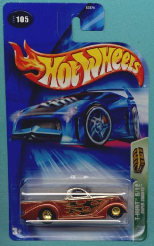 Hot Wheels 2004 Treasure Hunt Orange Super Smooth 5/12 #105 Limited Edition 1:64 Scale Collectible Die Cast Car ()