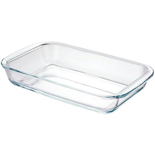 Juez Kitchen Essentials - Fuente de horno cuadrada de cristal de 1 ...