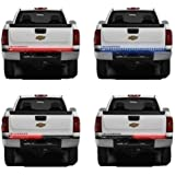 "Opall Waterproof 60"" Red/white Tailgate LED Strip Light Bar Reverse Brake Turn Signal Tail for Ford GMC Dodge Toyota Nissan Honda Truck SUV 4x4 Dodge Ram Chevy chevrolet Avalanche Silverado"