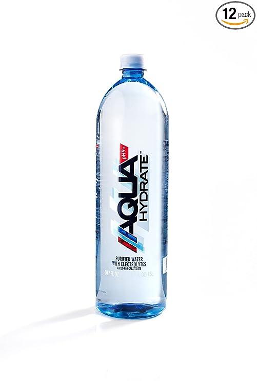 AQUAhydrate Electrolyte Enhanced Alkaline Water, 50.7 Fl. Oz