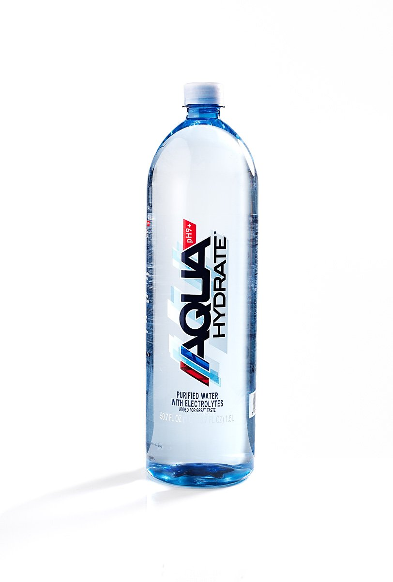 AQUAhydrate Electrolyte Enhanced Alkaline Water, 50.7 Fl. Oz (Pack of 12)