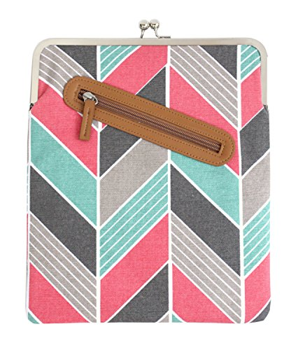kailo-chic-ipad-and-tablet-kisslock-case-in-coral-and-turquoise-chevron