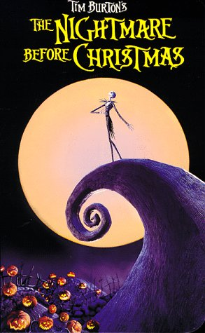 Tim Burton's The Nightmare Before Christmas [VHS] -