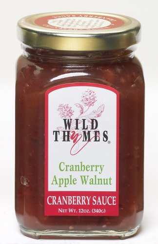 Wild Thymes Cranberry Apple Walnut Cranberry Sauce