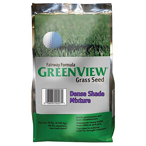GreenView Fairway Formula Grass Seed Dense Shade Mixture, 10 lb Bag
