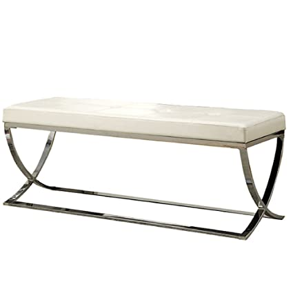Superb Amazon Com Nakshop Modern Dining Bench Seat Backless Creativecarmelina Interior Chair Design Creativecarmelinacom