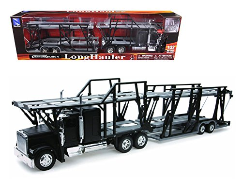 32 Scale Diecast Model (Freightliner Classic XL Car Hauler 1:32 Scale Diecast Truck Model)