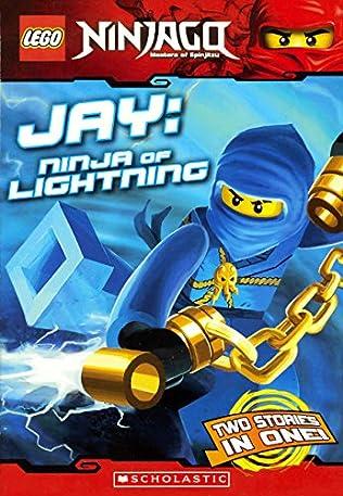 book cover of Jay : Ninja of Lightning