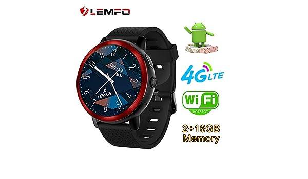 LEMFO LEM8 4G Android 7.1.1 Reloj Inteligente GPS 2MP cámara ...
