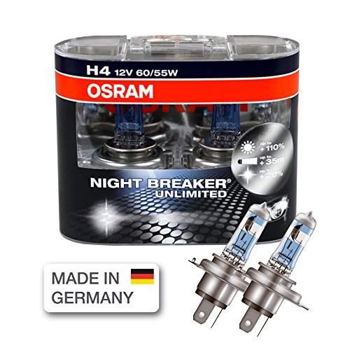 osram night breaker unlimited h4 twin pack automotive. Black Bedroom Furniture Sets. Home Design Ideas