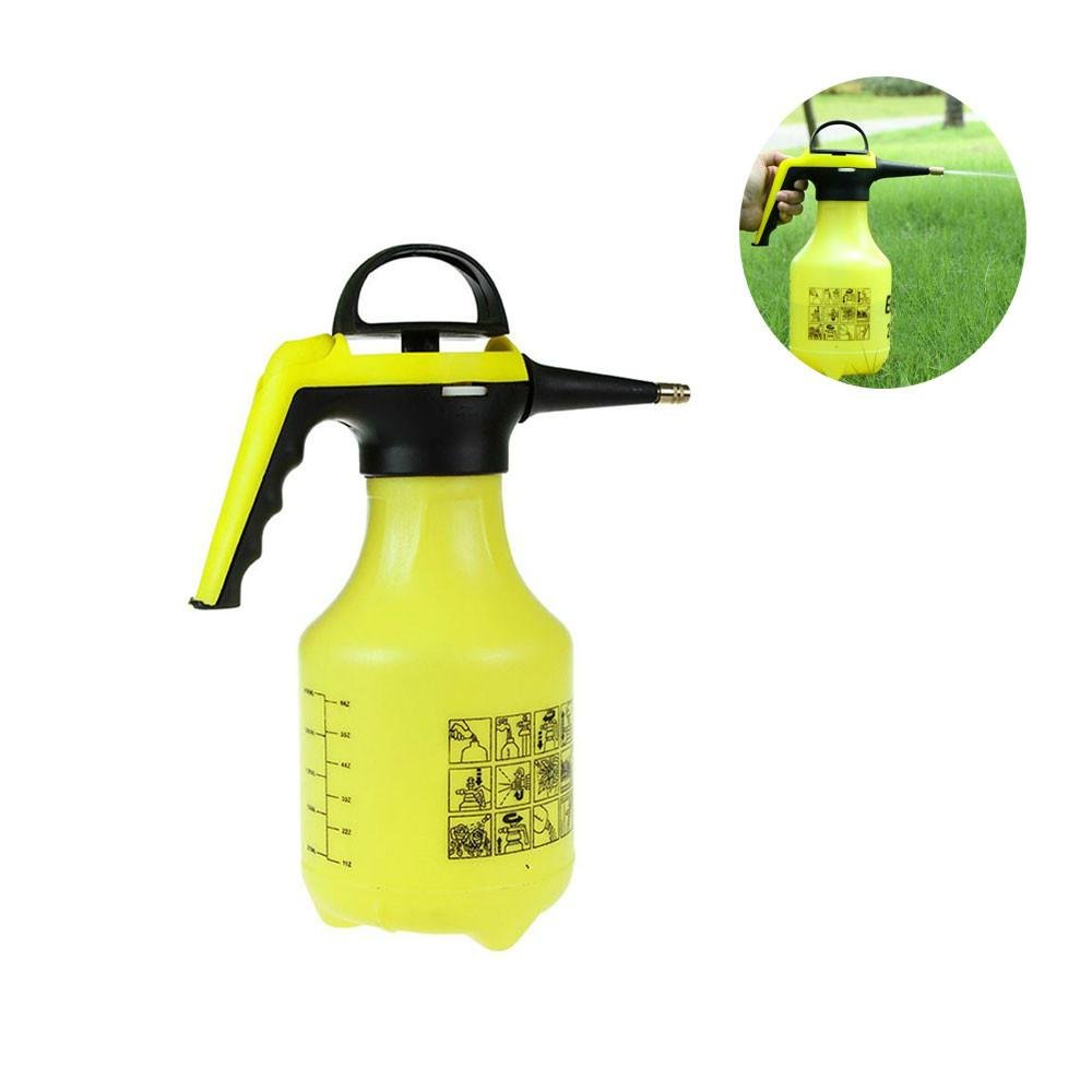 Umiwe Pump Pressure Sprayer, 2-Liter Garden Sprayer & Mister for Water, Herbicides, Pesticides, Fertilizers, Mild Cleaning Solutions and Bleach