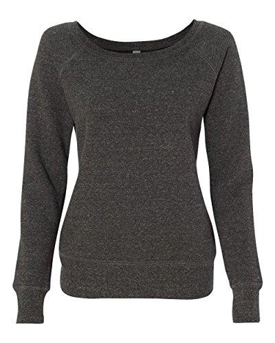 Bella Canvas - Camisa deportiva - Manga Larga - opaco - para mujer Char-Black Triblend