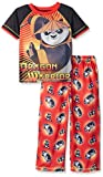 Komar Kids Boys Kung Fu Panda 2 Piece Pant Set