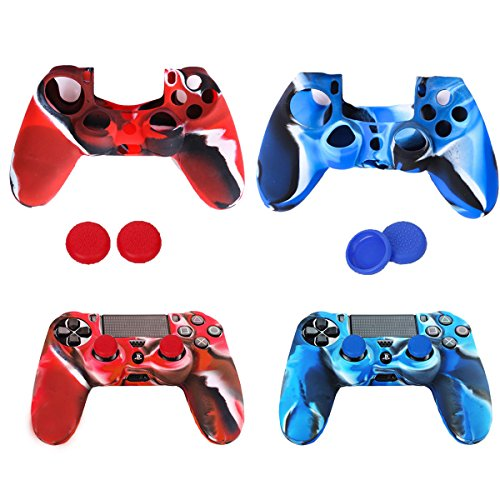 silicone-rubber-gel-skin-cover-case-thumbstick-for-sony-ps4-controller-2x