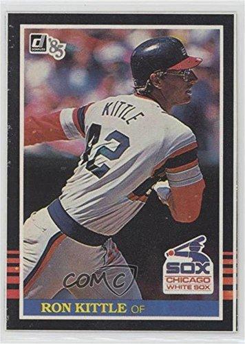 Ron Kittle (Baseball Card) 1985 Donruss - Wax Box Bottoms #PC3