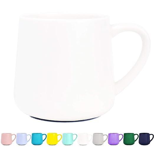 Taza de café de cerámica brillante, taza de té para oficina y ...