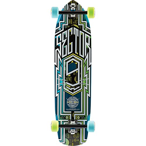 sector-9-carbon-flight-complete-skateboard-blue