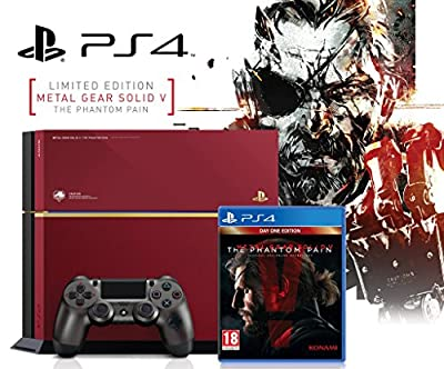 Console PS4 500 GB Limited Edition Metal Gear Solid V : The Phantom Pain European Version
