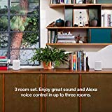 Sonos One (Gen 2) Multi-Room Voice Controlled Smart Speakers Bundle (4-Pack) - White