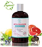 Anti-Cellulite Massage Oil - Reduces & Prevents Cellulite, Stretch Marks, Firms & Tightens Skin, Detoxes - Professional Strength Cellulite Massage Oil