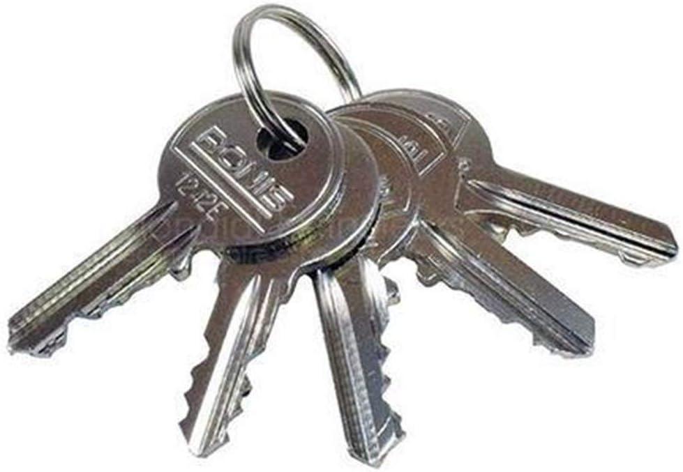 Trousseau de 5 clés normalisées de sécurité: Amazon.fr: Bricolage
