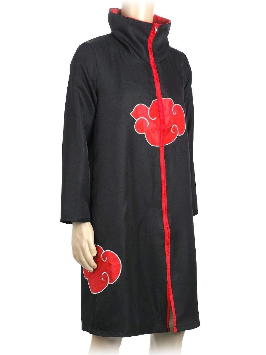 COSAUG Japanese Amine Akatsuki Costumes with Collar (XL) by COSAUG (Image #5)