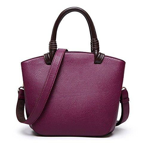 Simple Sac Main Sac Women's à Polyvalent Purple Bandoulière ZLL Et bag Shell Simple épaule Femmes De wqFAw1nv