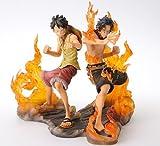 One Piece DX Figure BROTHERHOOD Luffy & Ace (Japan Import) by Banpresto