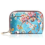 APHISON RFID Credit Card Holder Wallets for Women Leather Cartoon Patterns Zipper Card Case for Ladies Girls/Gift Box 010