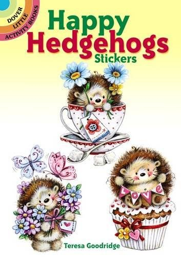Happy Hedgehogs Stickers (Dover Little Activity Books Stickers)]()