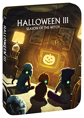 Halloween III: Season Of The Witch [Limited Edition Steelbook] [Blu-ray]