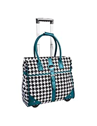ELLE Professional 15.6-Inch Laptop Tote, Teal, Under Seat