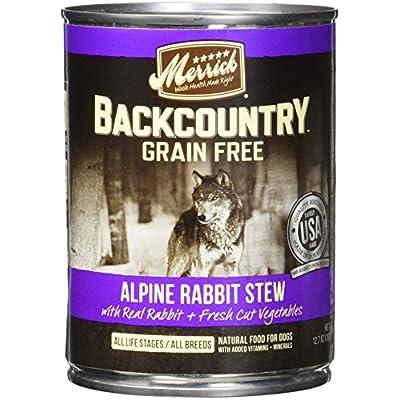 Merrick Backcountry Alpine Rabbit Can Dog Food
