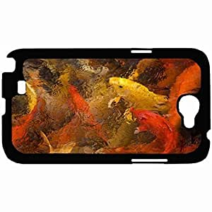 New Style Customized Back Cover Case For Samsung Galaxy Note 2 Hardshell Case, Back Cover Design Fish Personalized Unique Case For Samsung Note 2