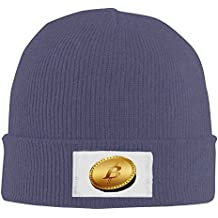 Oct Bitcoin Rich Unique \r\nWinter Beanie Hat Women Men Skully Sock Cap Gorro Hats