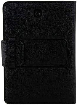 Ba Zha Hei Funda de Cuero + Teclado Bluetooth para Samsung Galaxy Tab S2 8.0inch T710 Funda con Teclado Bluetooth Teclado Bluetooth Inalámbrico ...