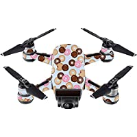 Skin For DJI Spark Mini – Donut Binge | MightySkins Protective, Durable, and Unique Vinyl Decal wrap cover | Easy To Apply, Remove, and Change Styles | Made in the USA