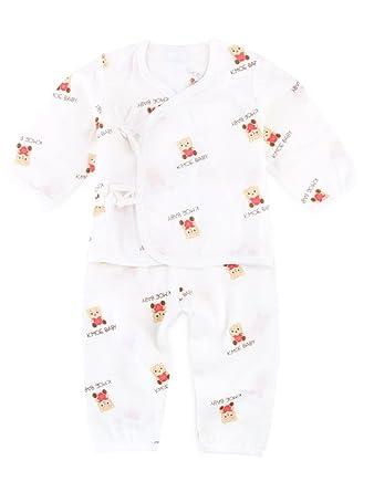 Babynice Ensemble 2Pcs Bébé Nouveau-Né Haut Manche Longue+Pantalon  Respirant Doux Vêtement des Bébés Mignon  Amazon.fr  Vêtements et  accessoires fbb4c1b20cf
