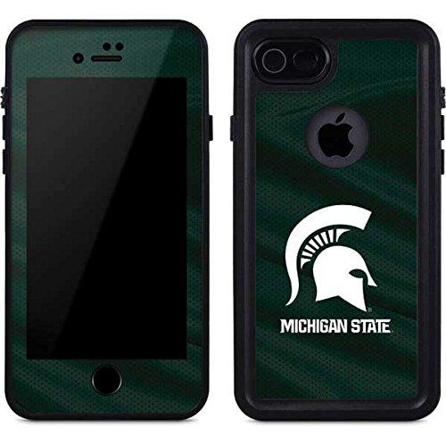 Michigan State University iPhone 8 Case - Michigan State University Away Grey Jersey | Schools X Skinit Waterproof Case -