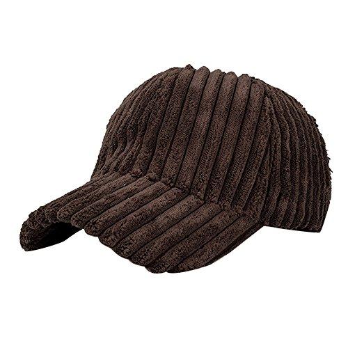 perfectCOCO Vintage Baseball Caps Women Men Corduroy Hat Snapback Hip Hop Flat Hats Coffee