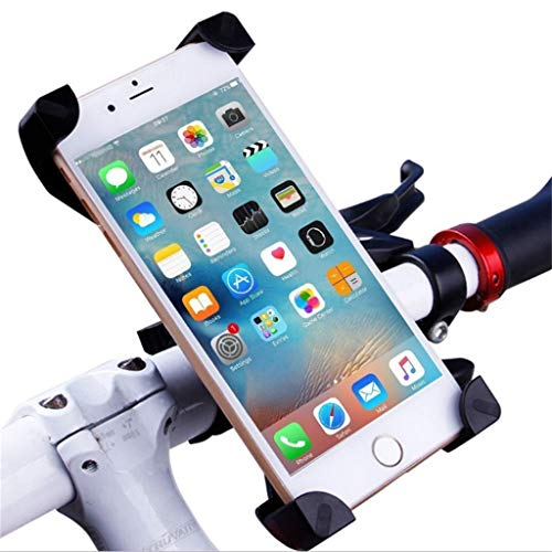 ASTVSHOP Bike Phone Mount, Motorcycle Cellphone Assesories Phone Holder Handlebar Case Bicycle Phone Holder for XIAOMI M365 Ninebot Cycling GPS, Fit for iPhone XS/XR/8/8 Plus, Samsung Galaxy Phones