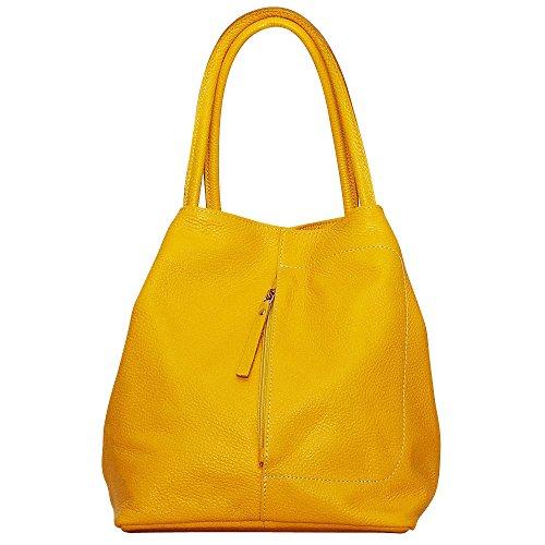 Chapeau-tendance , Herren Schultertasche gelb gelb