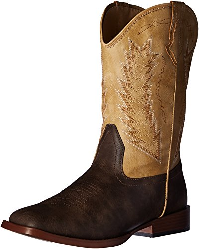 [Roper Boys' Billy Western Boot, Brown, 6 M US Big Kid] (Boys Boots Sale)
