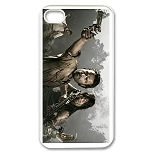 iphone4 4s White The Walking Dead phone cases&Holiday Gift
