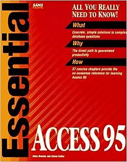 Essential Access 95: Allen Browne, Alison Balter