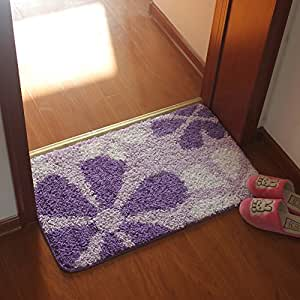 indoor mats/Water-absorbing mats/doormat/doormat to clean your shoes /bathroom non-slip mats-C 60x90cm(24x35inch)