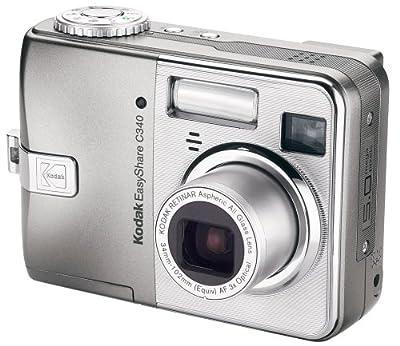 Kodak Easyshare C340 5 MP Digital Camera with 3xOptical Zoom (OLD MODEL) by Kodak