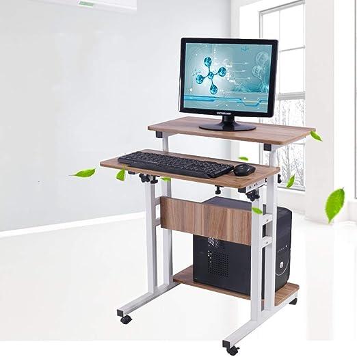 Dianz Escritorio Mesa portátil Ordenador portátil Mesa ajustable ...