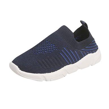 931f119d8f552 Amazon.com: Moonker Boys Girls Kids Sport Running Shoes Casual ...