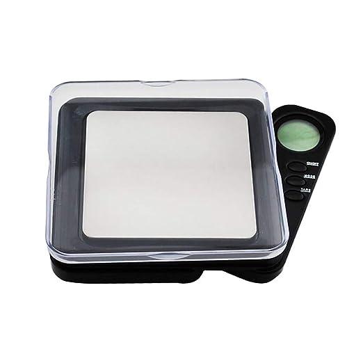 webla báscula de Cocina electrónica multifunción sin batería 0.01 gram Precisión Bijoux electrónica Báscula Digital Peso Báscula de poche100g: Amazon.es: ...